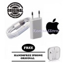 Jual Apple Charger Iphone 5 5C 5S 6 6S 6 6Splus Kabel Data Original Handsfree Iphone Original