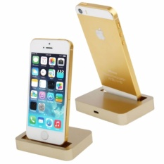 Apple Charging Dock Lightning 8 Pin for iPhone 5/5s/5c/iPod touch 5 - Gold