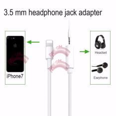 Jual Apple Converter Apple Iphone 7 Jack Audio Mic Bisa Buat Telephone Converter Sambungan Handsfree Iphone 7 Original White Apple Branded