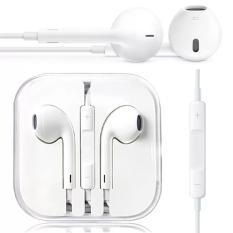 Apple Handsfree Earphone Iphone 5 5C 5S White Jawa Timur Diskon 50