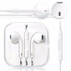 Harga Apple Handsfree Earphone Iphone 5 5C 5S White Yg Bagus