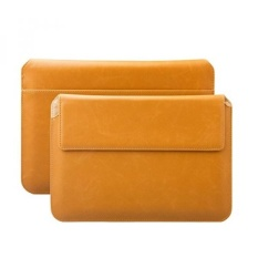Apple IPad Air 2 IPad Pro 9.7 Sleeve Bag Samsung Galaxy Tab S3 S2 9.7 Case Sesuai untuk dari 8.0 untuk 10.1 Inches Tablet Buffalo Caramel ICues Piquante Dompet Leather Envelope-Intl