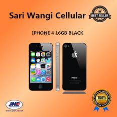 Apple Iphone 4 16Gb Black Garansi 1 Tahun Dki Jakarta