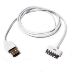 Apple Iphone 4 Kabel Data Original - Putih