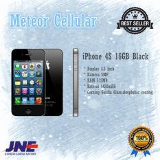 Apple iPhone 4S - 16GB - Hitam - Garansi 1 Tahun Original