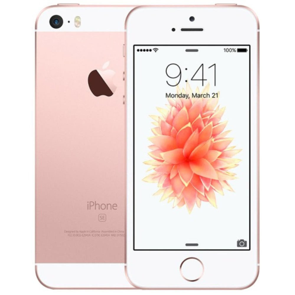 APPLE IPHONE 5 SE 16GB ROSE GOLD GARANSI INTERNASIONAL