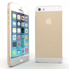 APPLE IPHONE 5S GOLD - Garansi 1 tahun - Free Tempered Glass