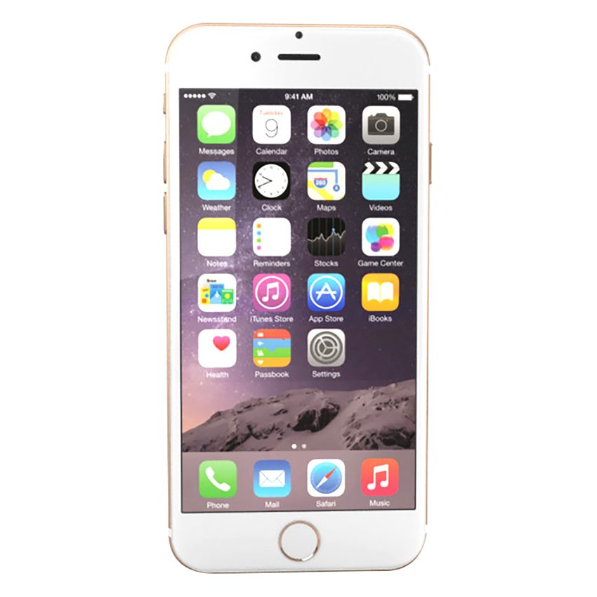Kapasitas 128 GB GOLD APPLE IPhone 6 Gold