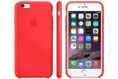 Apple iPhone 6 Plus Case Leather Original - Merah