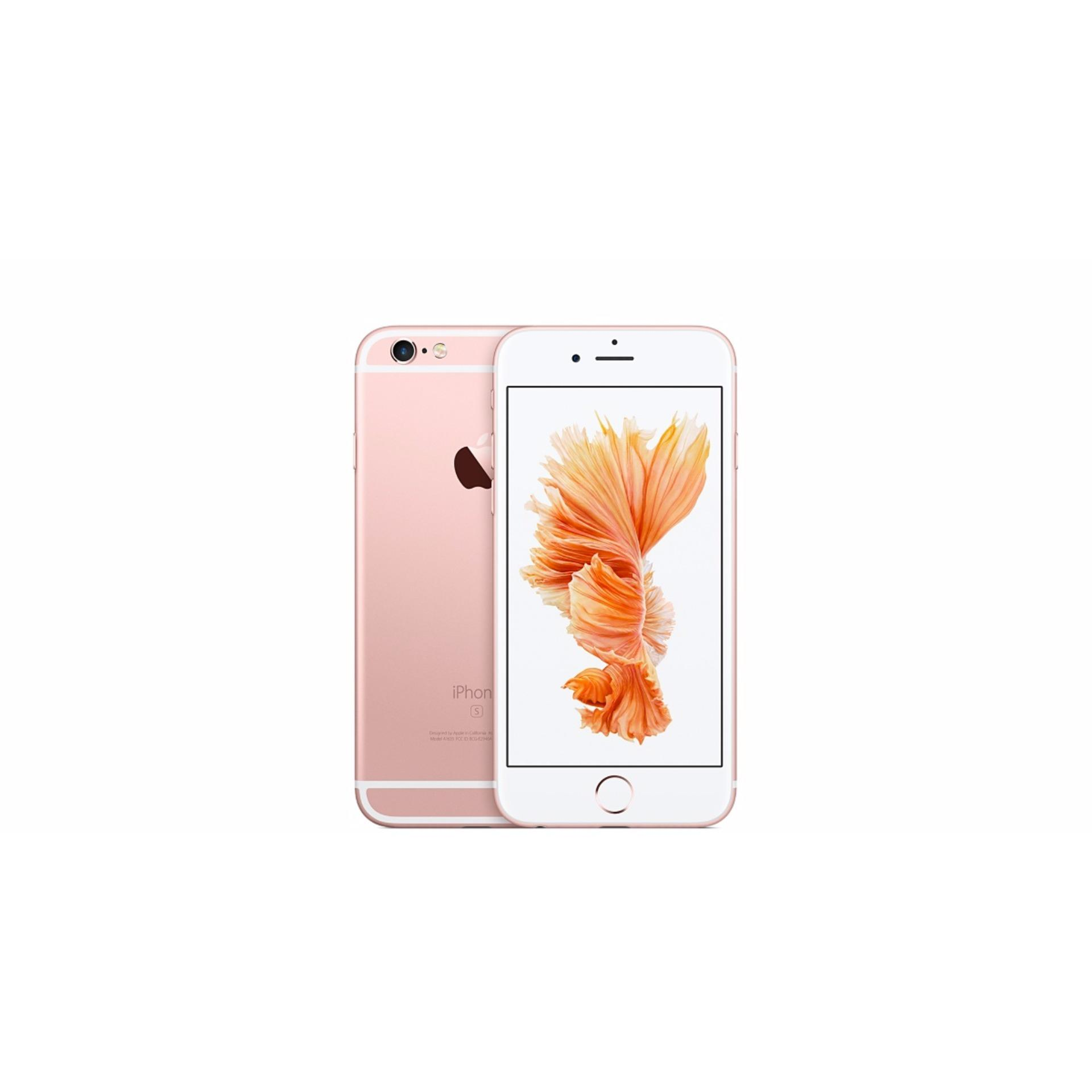 Review Terbaik Apple Iphone 6S 16Gb Rosegold Free Tempred Glass