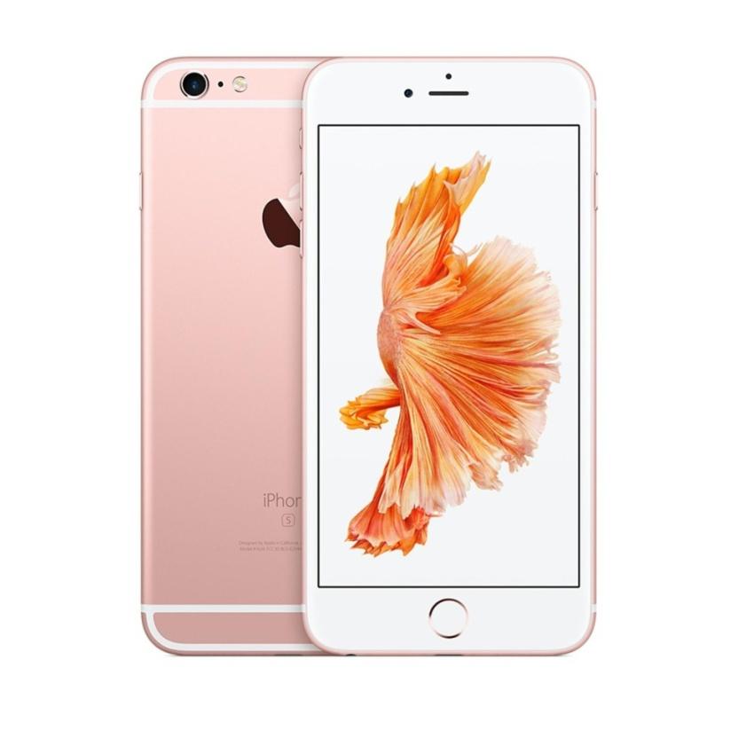 APPLE IPHONE 6S 64GB ROSE GOLD - Garansi 1 tahun - Free Tempered Glass 07aef80277