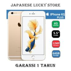 APPLE IPHONE 6S PLUS 64GB GOLD - 4G LTE - GARANSI 1 TAHUN