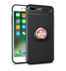 Bulan Case Anda Apple iPhone 7 Plus/8 PLUS Case 360 Lingkaran Ganda Lapisan Pelindung Hibrida Stand Penyangga Sarung (seperti Yang Ditunjukkan) -Internasional