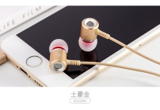 Apple IPhone6/6 S/Plus/5 S/5 Ponsel Headset Telinga Umum Asli Asli Bass Penyumbat Telinga-Intl