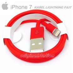 Harga Apple Kabel Data Iphone 7 Lightning Fast Trabsfered Data Red Color Yang Bagus