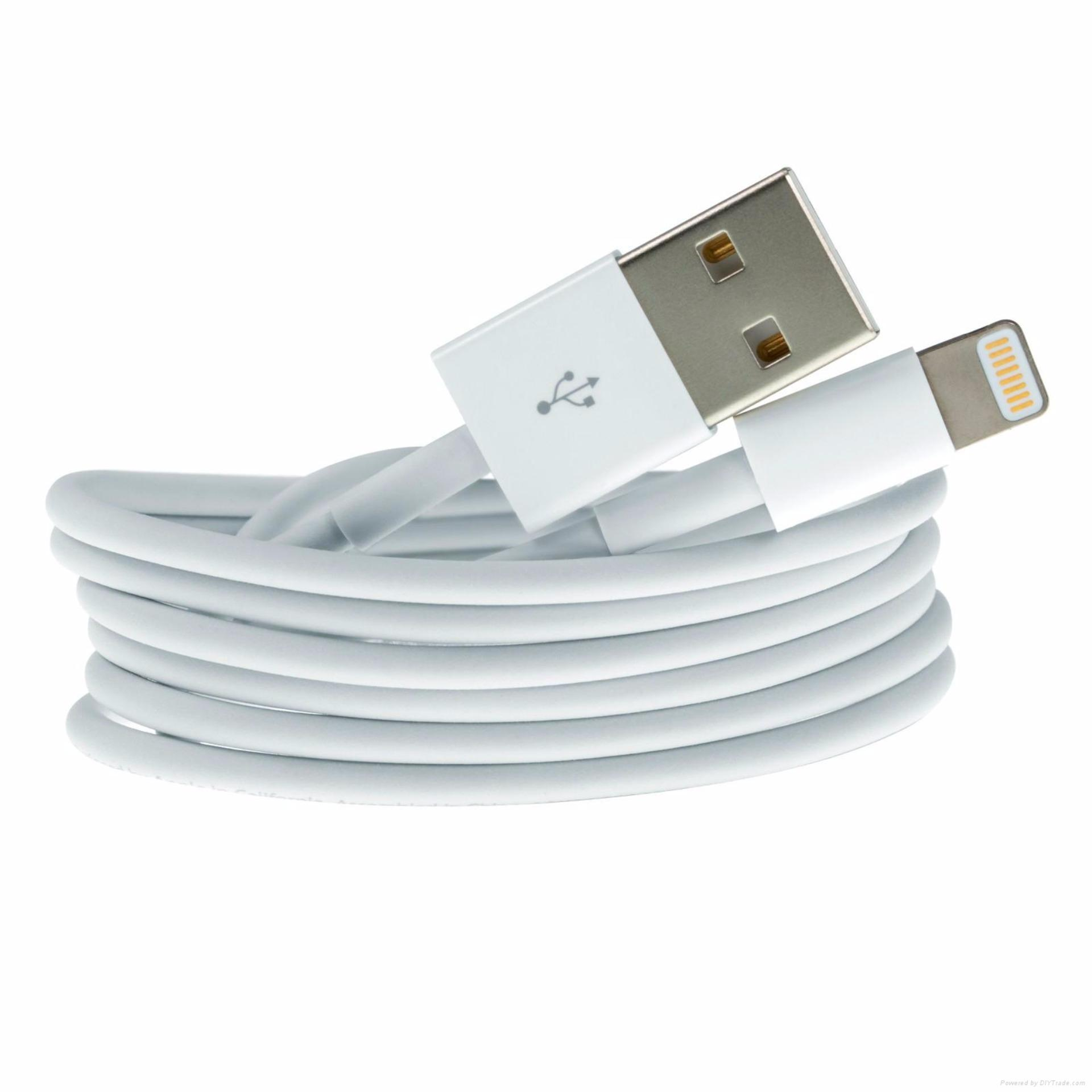 Beli Apple Lighting To Usb Cable Kable Data Iphone 5 Original Baru