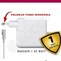 Apple Original - 85W MagSafe Power Adapter Adaptor Charger (for 15-17 inch MacBook Pro) Magnetic - Putih