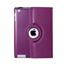 Apple Rail Rotation PU Leather Folding Stand Flip Case Cover Skin Protector for Apple iPad 2 3 4 -