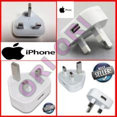 Apple USB Adaptor Iphone / Ipod - Kaki 3 [ Non Kabel ]  Origina