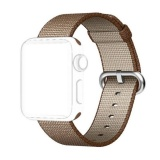 Beli Apple Watch 42Mm Band Woven Nylon Strap Replacement Nylon Band For Apple Watch Coffee Intl Cicilan