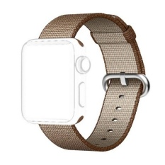 Harga Apple Watch 42Mm Band Woven Nylon Strap Replacement Nylon Band For Apple Watch Coffee Intl Asli Oem