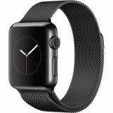 Harga Apple Watch 42Mm Space Black Stainless Steel Case With Black Milanese Loop Hitam Origin