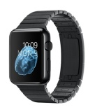 Model Apple Watch 42Mm Stainless Steel Case With Black Link Bracelet Hitam Terbaru