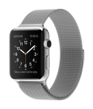 Beli Apple Watch 42Mm Stainless Steel Case With Milanese Loop Silver Apple Asli