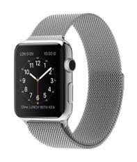 Jual Apple Watch 42Mm Stainless Steel Case With Milanese Loop Silver