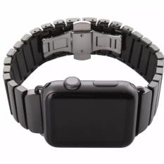 Jual Apple Watch Band 38Mm Ceramic Series Tali Jam Tangan Original Hitam Banten Murah