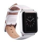 Apple Watch Band Iwatch Band 42Mm Genuine Leather Strap Iphone Watch Band Gelang Pengganti Wristband Dengan Stainless Steel Adaptor Genggam Logam Untuk Apple Watch Series 2 1 Intl Tiongkok