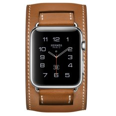 Cuci Gudang Apple Watch Hermes Cuff 42Mm Fauve Barenia Band Jam Tangan Unisex Coklat
