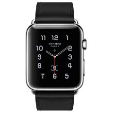 Jual Apple Watch Hermes Single Tour 42Mm Noir Box Band Jam Tangan Unisex Hitam Lengkap