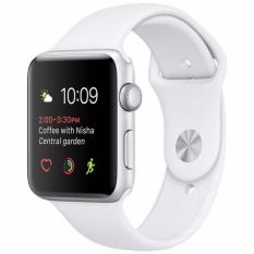 Jual Apple Watch Series 1 42Mm Silver White Import