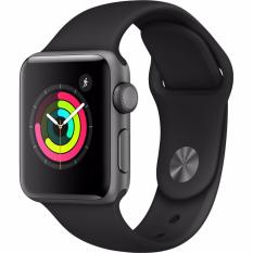 Jual Apple Watch Series 3 Gps 38Mm Gray Gray Sport Band Water Resistant Murah