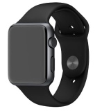 Harga Apple Watch Space Gray Sport Edition Alumunium 42Mm Black Silicon Strap Yang Murah