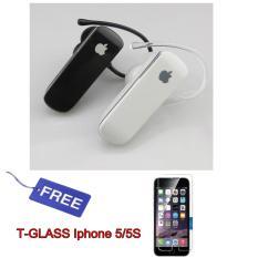 Jual Apple Wireless Bluetooth 4 Stereo Headset Handsfree For Iphone Random Colour Free Temperglass Iphone 5 5S Original