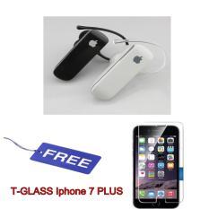 Apple Wireless Bluetooth 4.0 Stereo Headset Handsfree for iPhone - Random Colour Free Temperglass Iphone 7 PLUS