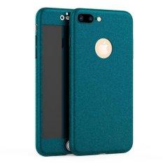 Apple Iphone 6/6 S PLUS Versi Pembaruan Kemewahan Sangat Tipis 360 Derajat Cakupan Pasir Merasa Sarung Tidak Mengilap Tidak Tembus Pandang untuk Apple untuk iPhone 6/6 plus Seluruh Badan Penutup Ponsel Case S 5.5 Inch (Warna: seperti Gambar Pertama)-Intl