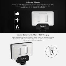 Harga Aputure Al M9 Amaran Menerangi Berukuran Kecil Fill Light Mini Video Light Aputure Original
