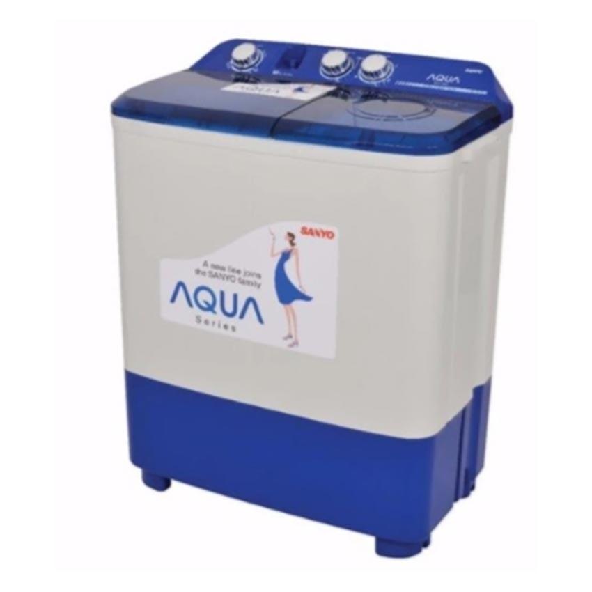 Jual Aqua Mesin Cuci 2 Tabung Semi Automatic Qw 881Xt Kapasitas 8 Kg Gratis Pengiriman Jabodetabek Dan Bandung Aqua Branded