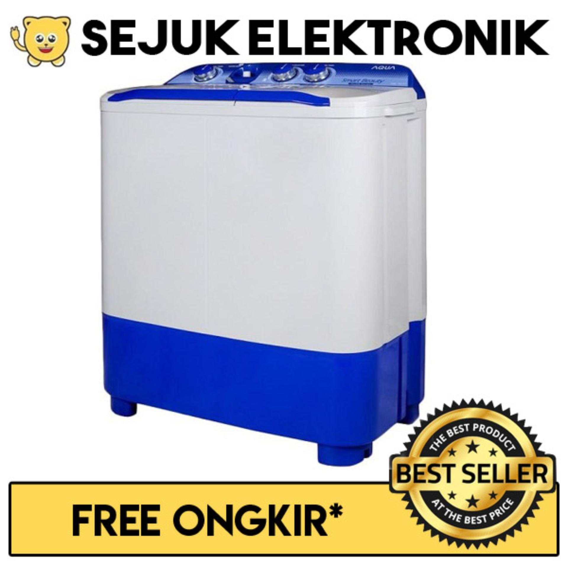 Aqua QW881XT Mesin Cuci Dua Tabung 6kg (JADETABEK ONLY)