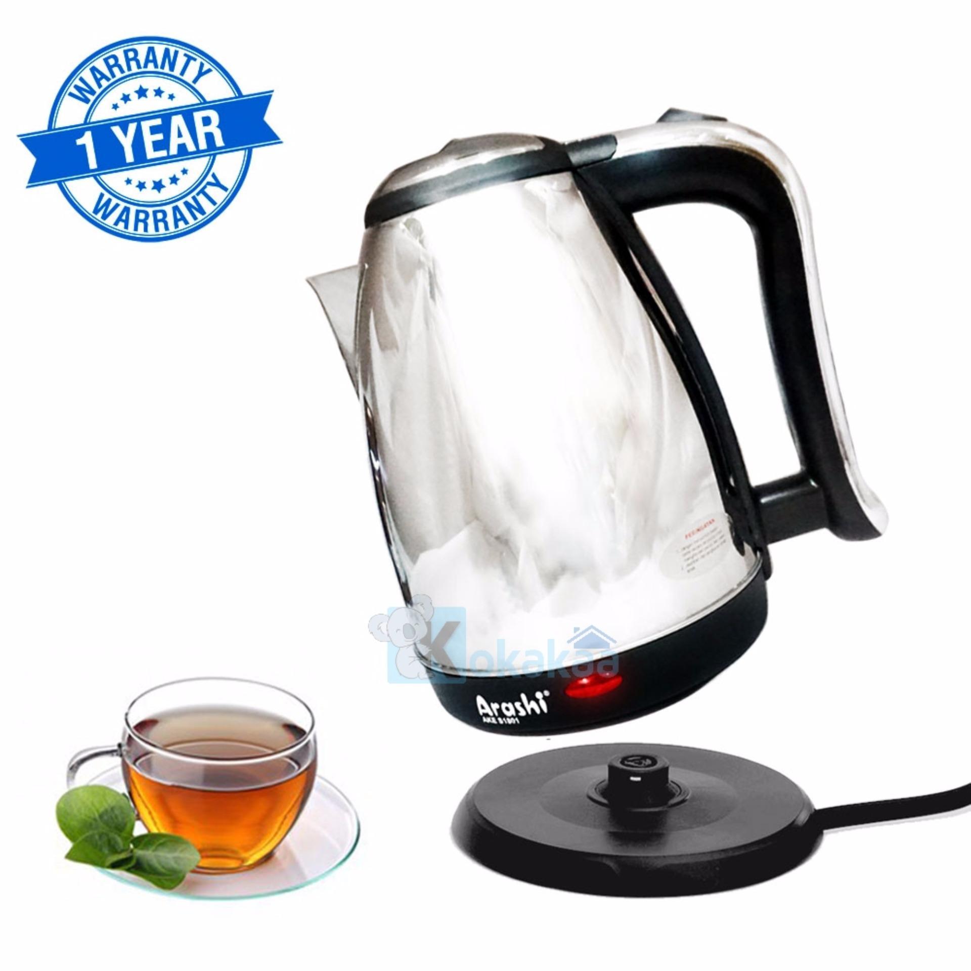 Jual Ketel Elektrik Teko Listrik Juug Untuk Air Minum Arashi Espresso Kettle Ceret Pemanas Electric 18l Ake