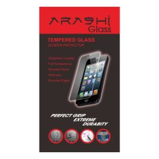 Kualitas Arashi Tempered Glass Front And Back For Iphone 4 4S Arashi