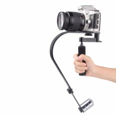 Review Arc Shaped Handheld Steadycam Stabilizer Video Gimbal For Kamera Dslr Gopro Xiaomi Yi Action Camera Mobile Phone Iphone Oem