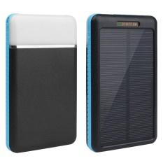 Arcic Land Panel Tenaga Surya Bank Battery Case Shell DIY Box Kit dengan Lampu LED Ourdoor-Intl