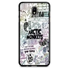 Arctic Monkeys Band Lyrics Quote Z0914 Samsung Galaxy J3 Pro 2017 Custom Hard Case