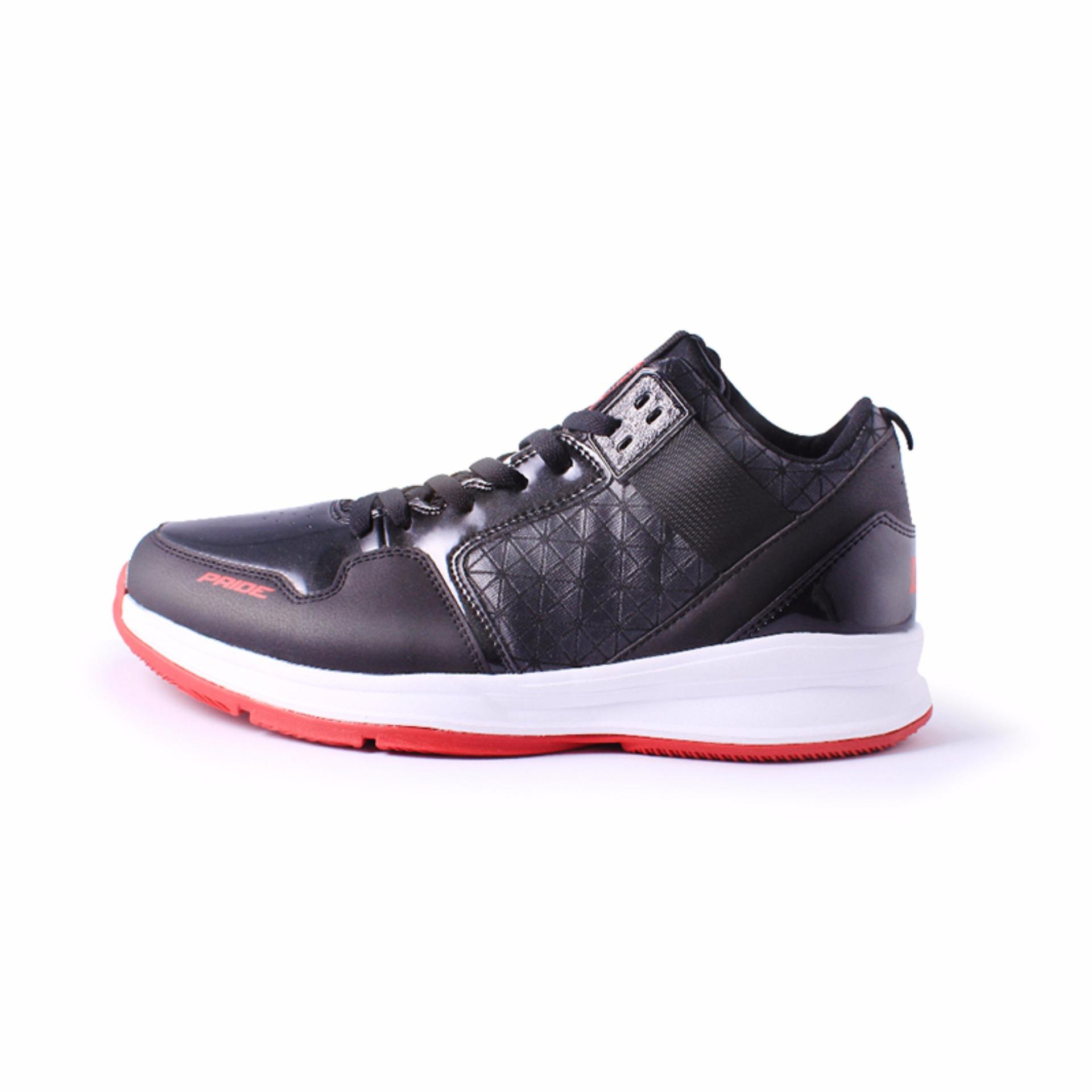 Beli Ardiles Men Pride Basket Shoes Black Red Ardiles Online