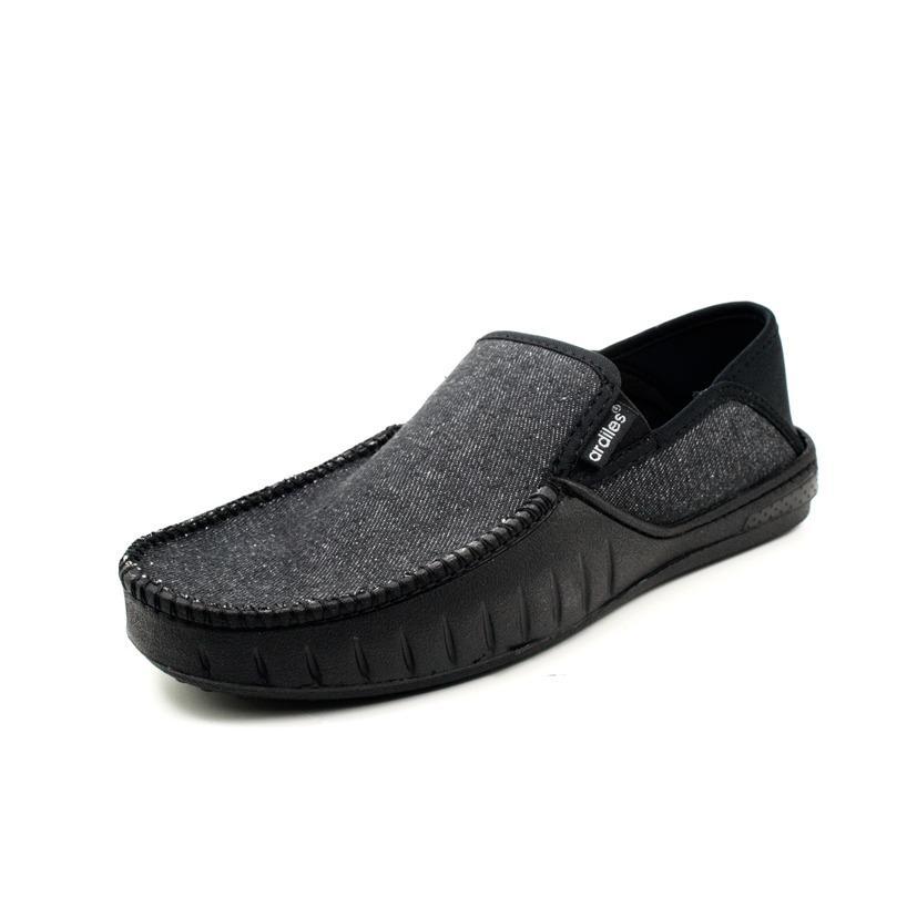 Toko Ardiles Sepatu Slip On Loto Hitam Lengkap