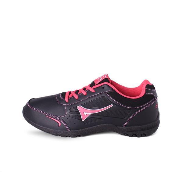 Spesifikasi Ardiles Women Marimar Running Shoes Hitam Merah Fushia Terbaru